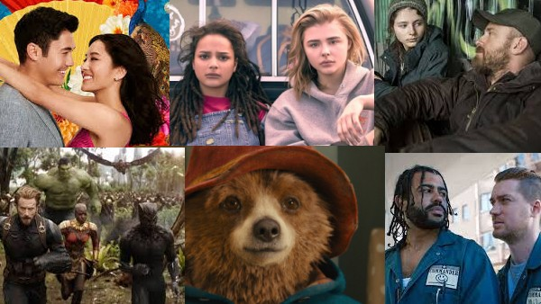 Louisa Moore's Top 10 Films of 2018 Collage